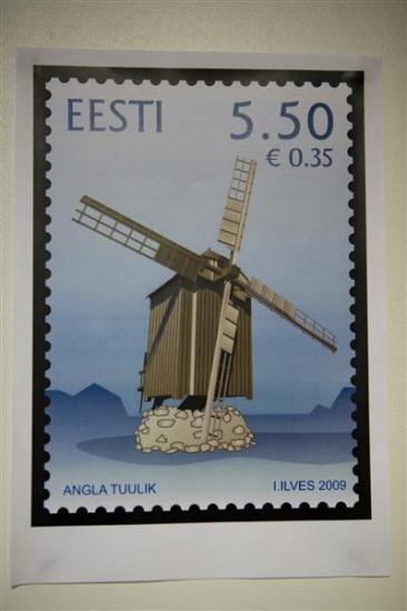 Vilidu tuuliku postmark